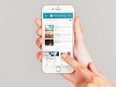 Tulip Academy app mobile