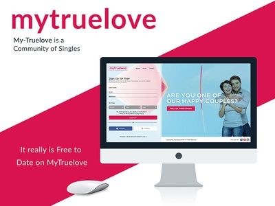 My True Love webdesign