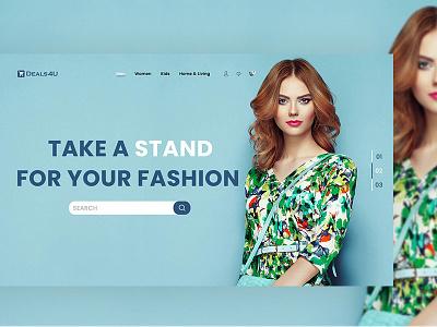 Deals4U E-Shopping Web Template wordpress trend theme template shopping shop psd design product pmass modern fresh e-commerce deals4u
