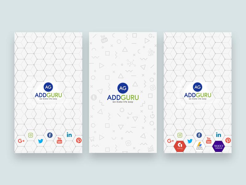 Splash Screen Designs markerting agency modern ux ui branding vector corporate app adobe art digital flat clean concept creative graphic splash screen design