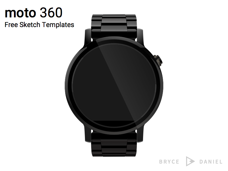 Free Moto 360 Template [Sketch] resource watch free template sketch moto 360 android wear mockup