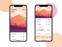 Weather App UI Concept-2