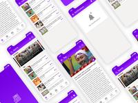 News App UI Concept