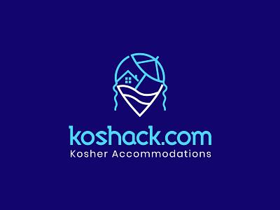 koshack Logo design logo letter travel room travel room creative logo typography branding logo design koshack