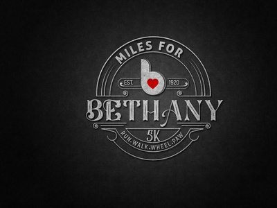 bethany logo design typography vector business illustration logo design branding colorful logo business logo design creative logo logo design