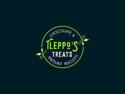 Tleppo S Treat business logo design chocolate biscut logo flower logo creative logo typography colorful logo logo design
