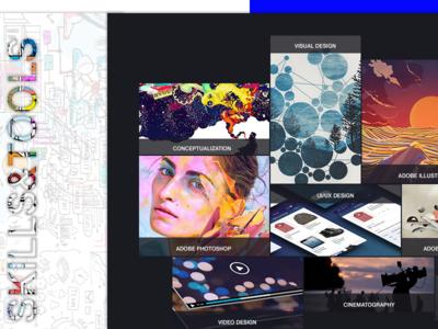 Designer Portfolio_Skills&Tools -2018