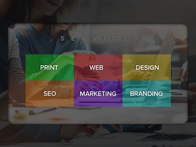 Organisation Portfolio-Services Page