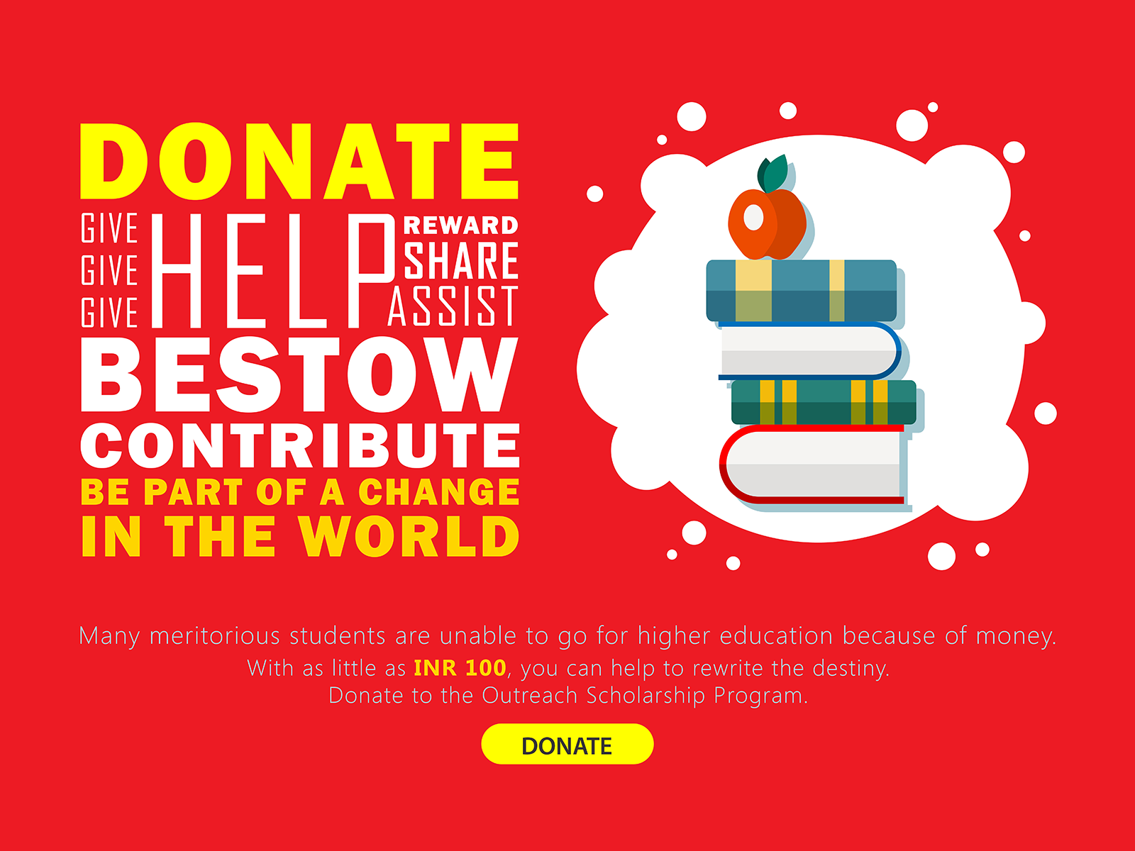 Donation Campaign Poster By Mubin Ex On Dribbble