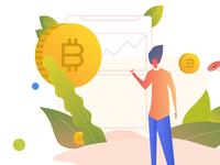Crypto Raise Illustration