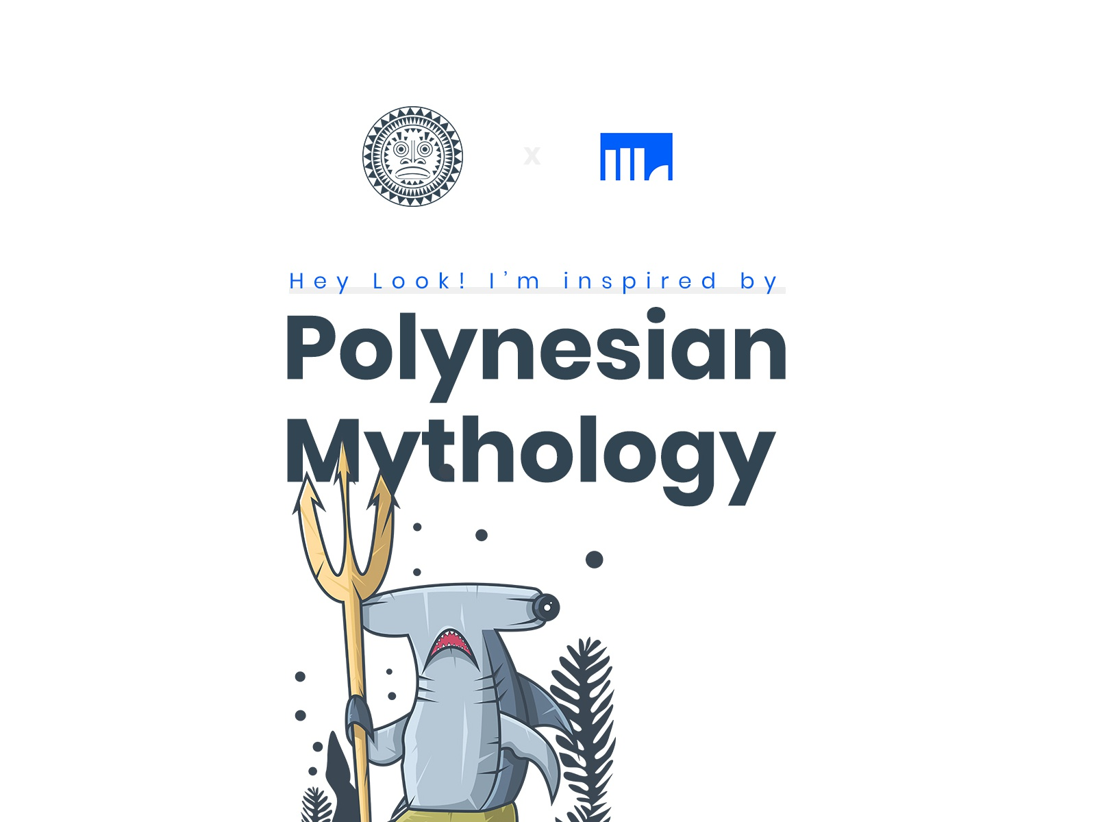 Polynesian Mythology Illustration Project btc bitcoin branding art adobe scetch illustrator dribbble app ux gradient design color behance ui vector crypto character illustration currency