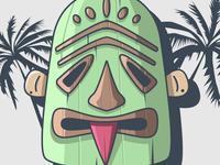 Tiki Mask 02