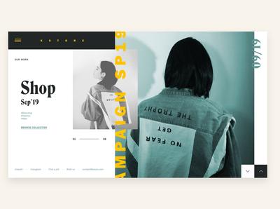 Kstore - Fashion Website