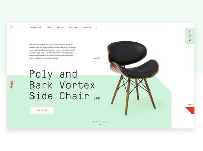 Mobli Furniture Website