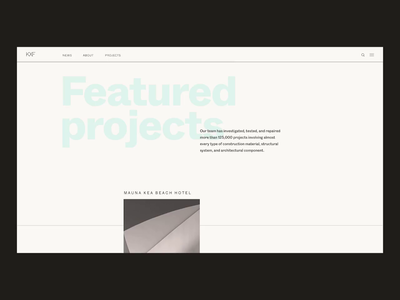 KXF - Architecture Website 2.0
