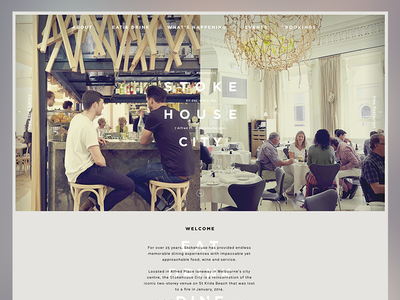 Stoke House City Melbourne stoke house city restaurant one page site melbourne