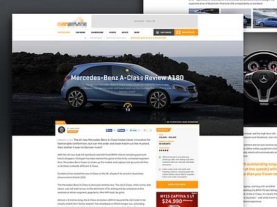 Car Review Site Article website page article list review car