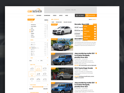 Car Review Site Search website results search article list review car
