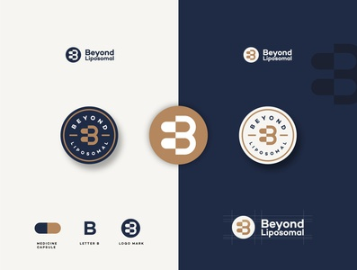 logo concept for Beyond Liposomal