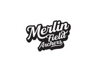 Merlin Field Archers Logo Design