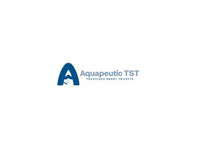 Aquapeutic Tst Logo Design typography business design unique logo modern designer logo design logopreneur logo