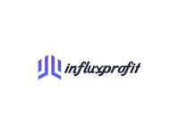 Influxprofit logo design