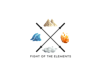 Fight Of The Elements Logo Design