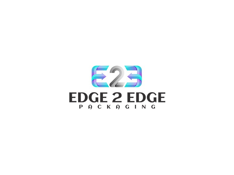 Edge 2 Edge Logo Design typography unique single abstract logo designer business unique logo logo design logopreneur logo