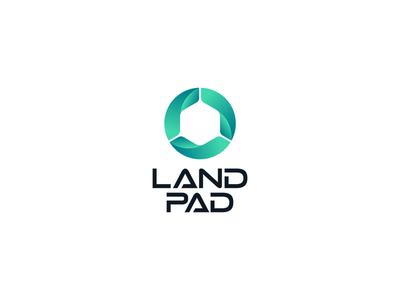 Land Pad Logo Design