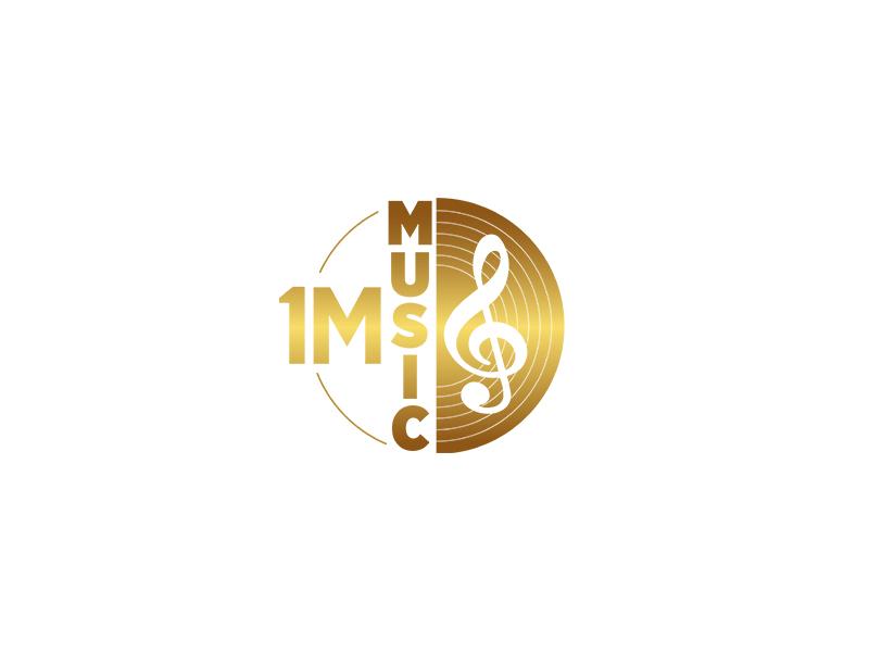 Music Logo Design typography designer illustration unique modern single business design unique logo logo design logopreneur logo