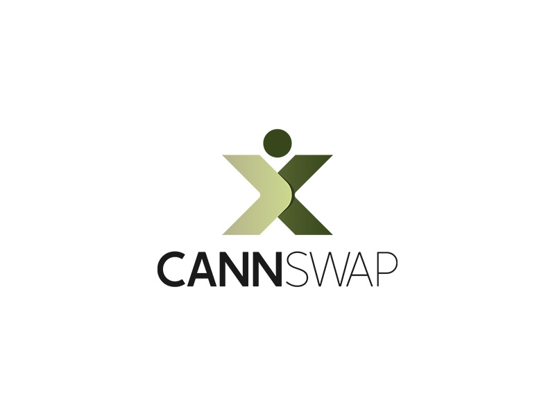 Cannswap Logo Design graphic typography modern unique design business unique logo logo design logopreneur logo