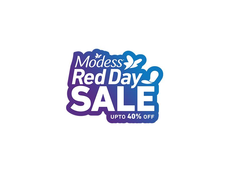 Modess Red Day Logo Design design modern typography single unique business unique logo logo design logopreneur logo