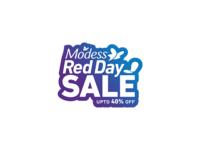 Modess Red Day Logo Design
