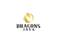 Dragons Java Logo Design