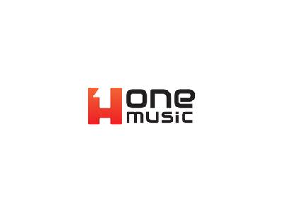 H One Music Logo Design