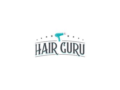 Hair Guru Logo Design