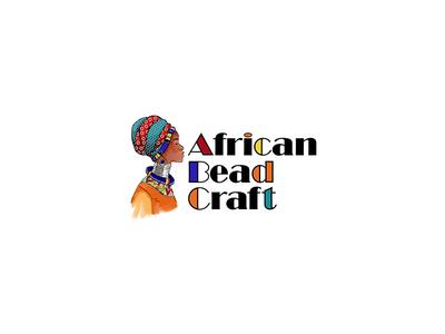 African Bead Craft Logo Design