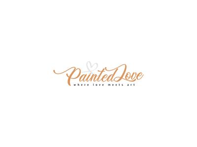 Painted Love Logo Design