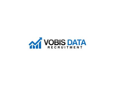 Vobis Data Recruitment Logo Design