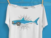 BMW Shark - Tshirt Design