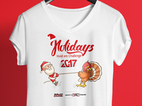 Holidays - T shirt Design