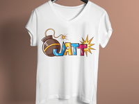 Bamb Jatt Cool Punjabi T Shirt Design
