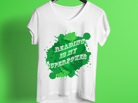 Reading Is My Superpower T Shirt Design