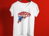 Freedom T Shirt Design