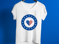 Independence Day T Shirt Design