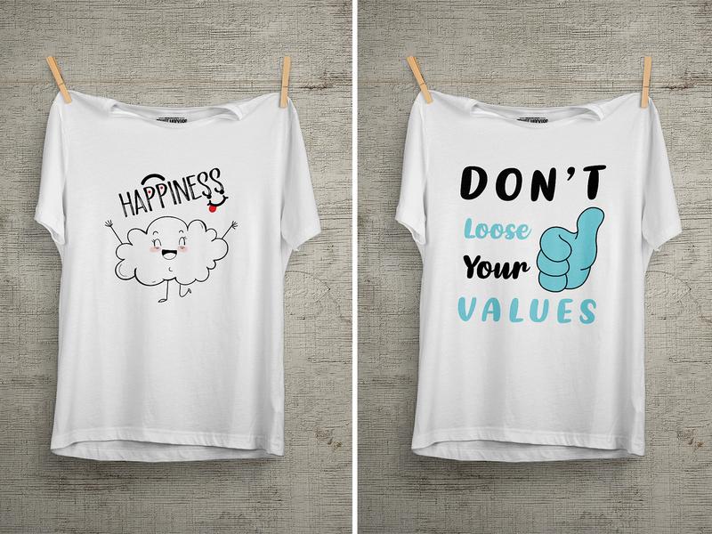 Don't Loose Your Values T Shirt Design enjoy cartoon famous design summer design unique design t shirt amazon 99 designs
