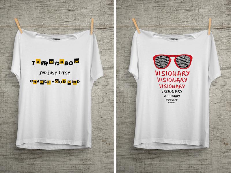 Visionary T Shirt Design colorful design design amazon enjoy famous summer unique design t shirt 99 designs