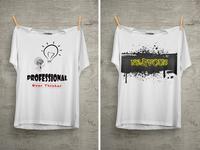 Professional T Shirt Design