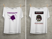 Therapy T Shirt Design
