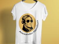 Alexander Hamilton T-Shirt Design